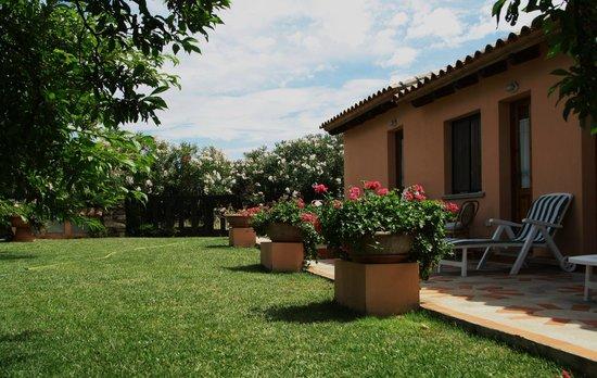 Casetta Rosada: Ingresso delle camere