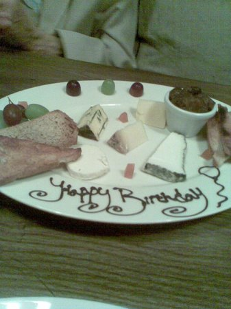 The White Horse: Personal touch -  the shared cheese platter