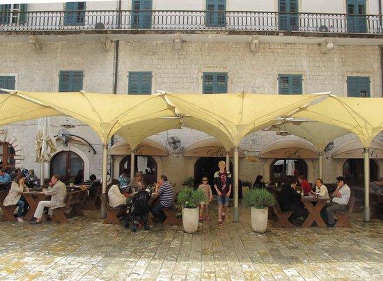Historic Boutique Hotel Cattaro : Hotel Cattaro's Resturant A's