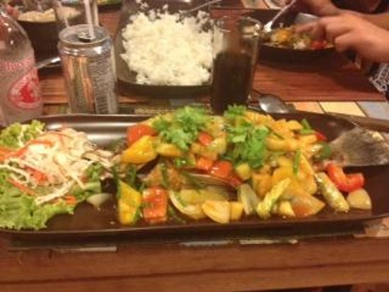 Lanna Restaurant: Deep Fried Seabass Sweet & Sour