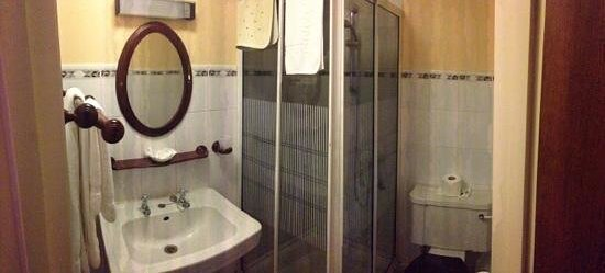 The Red Lion Hotel: ensuite shower room