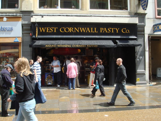 The West Cornwall Pasty Company: Shop front