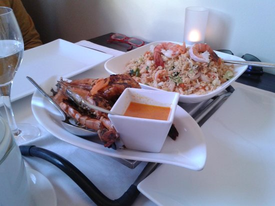 La Pagode: Lobster and shrimps for my guests