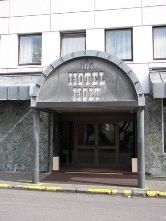 Hotel Holt: Hoteleingang