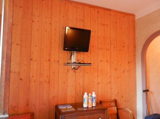 Hotel Liberty Mont Blanc: Depuis le lit