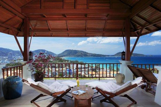 L'Orchidee Residences: Villa Disa B3, Terrace view