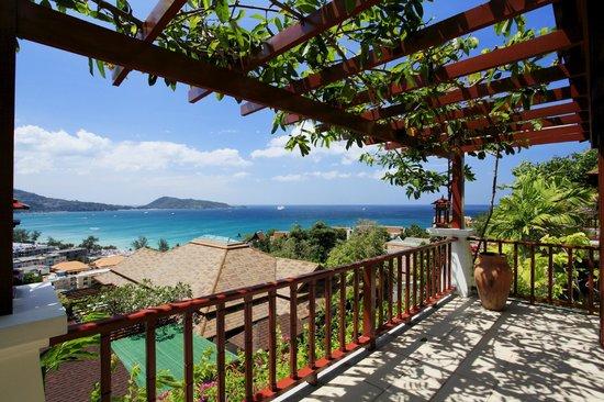 L'Orchidee Residences: Villa Disa B3, Bedroom terrace view