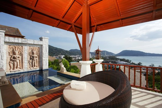 L'Orchidee Residences: Villa La Cigale C11, Terrace, pool