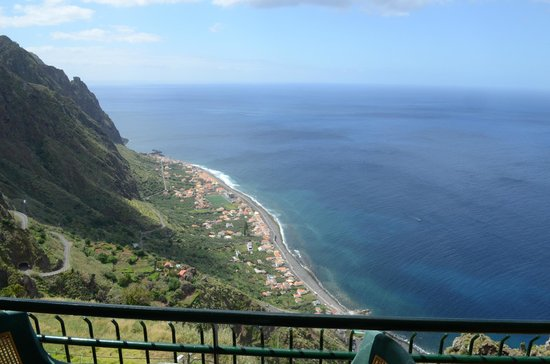 Vila Mia: Spektakulärer Blick  vom Balkon