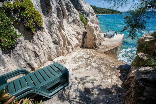 Villa Vesna: beach