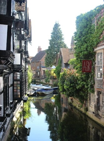 The Victoria Hotel : Canterbury canals