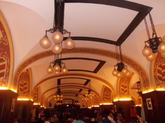 auerbach's keller - soffitto