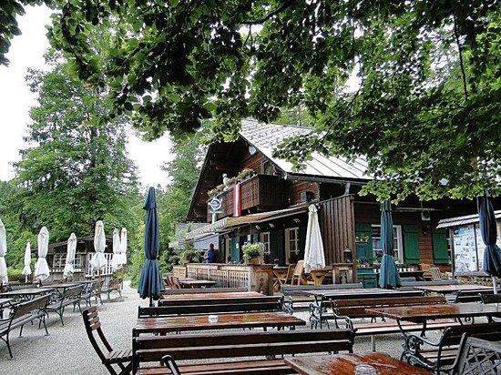 Fischerhutte am Toplitzsee : ...die romantische Fischerhütte...
