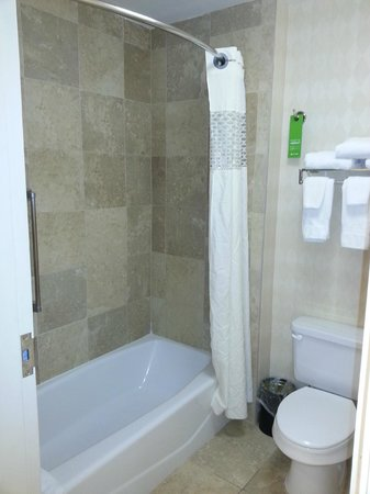 Hampton Inn & Suites Jacksonville-Airport: Bath