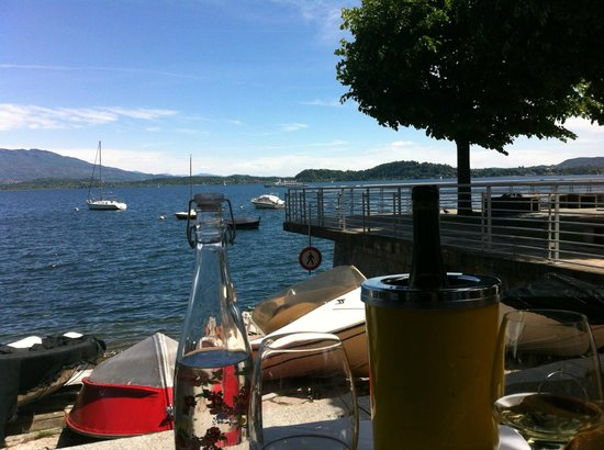 Il Rapanello : vista lago