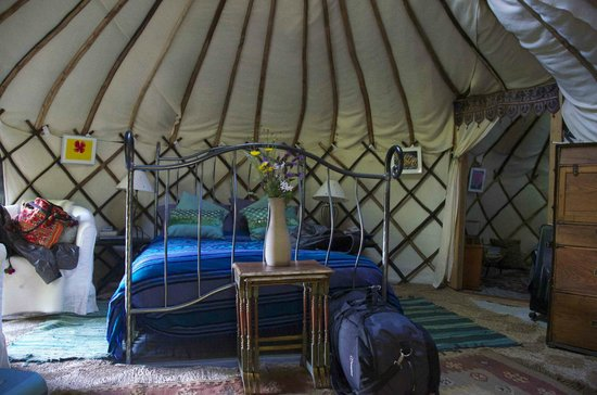 Yurt Holiday Portugal: It's a bedroom but not as you know it...