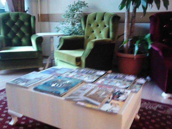 SRF Hotel : Lobi