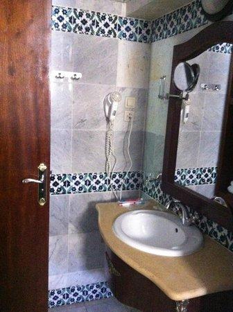 Dar Diaf Alger : Ok bathroom but broken window