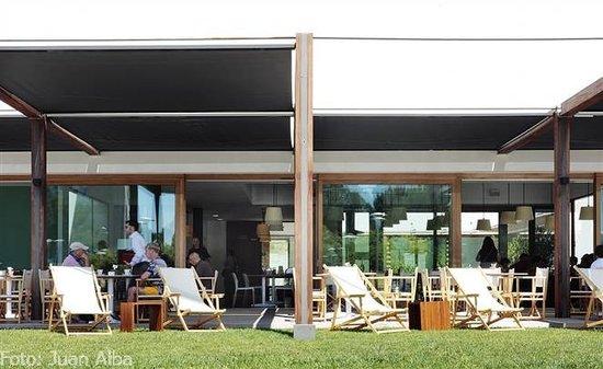 Cafe Botiga Palmanova: hammock area