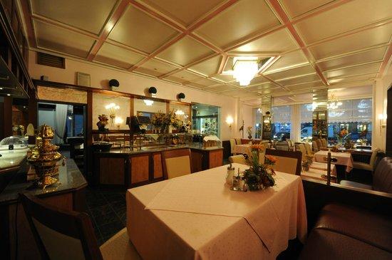 Hotel Heldt: Frühstücksraum/Restaurant