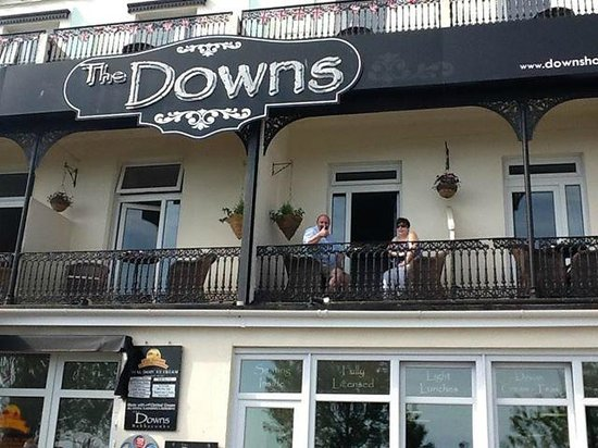 The Downs, Babbacombe: downs room with a view