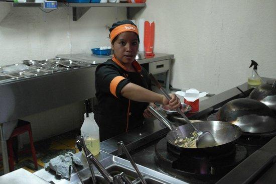 Wokco: kitchen