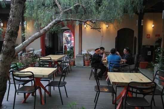 Wokco: outdoor patio