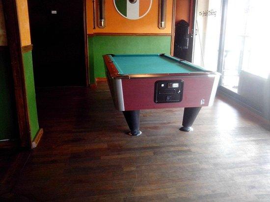 The Irish Viking : Our new Biljard table