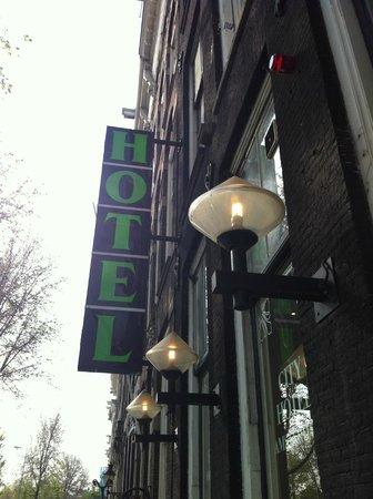 City Hotel Amsterdam: vista da fuori