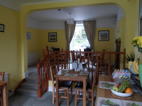Strathallan Guest House: Dining Room..newly refurbished