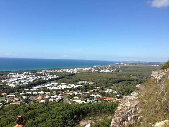 Mount Coolum: View from 3/4 of the way up