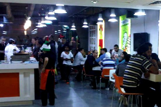 Shish Shawerma: Buzzing atmosphere during the evenings