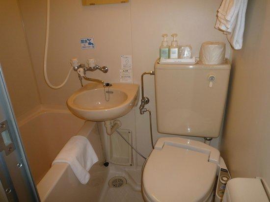 Hotel Green Line: bath room