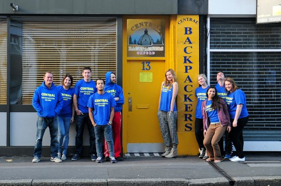 Central Backpackers Oxford : The Central Backpackers team!