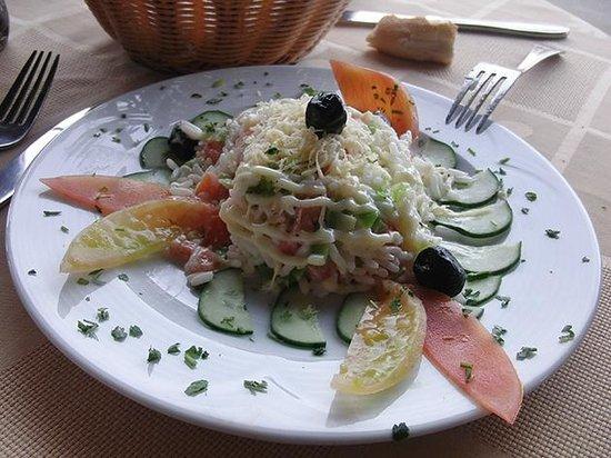 Restaurant 3Thes: Ensalada mexicana