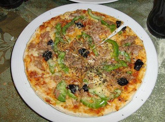 Restaurant 3Thes: Pizza de atún