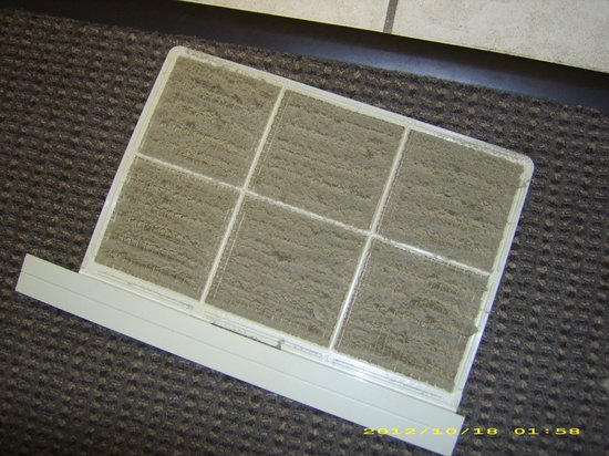 Sleep Inn & Suites: AC filter