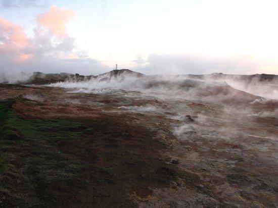 Gunnuhver Hot Springs: Thermalquellen