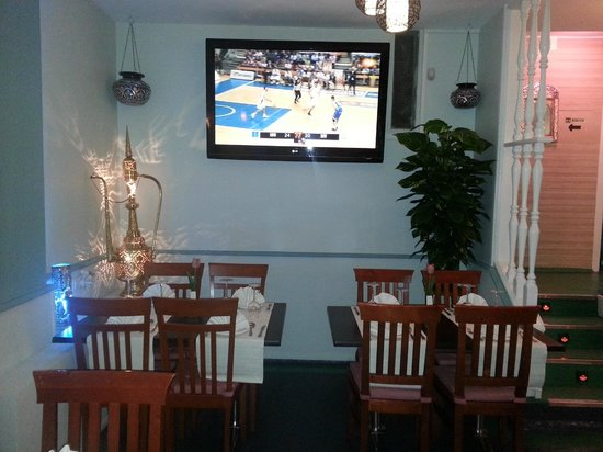 Curry Lounge: dining room