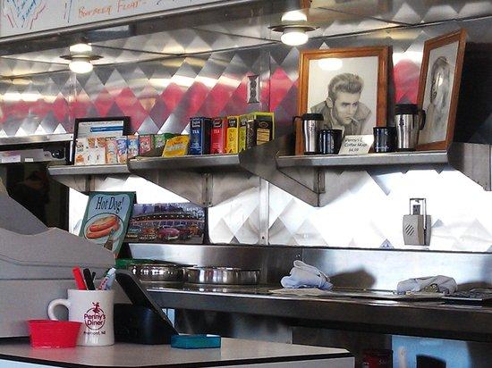 Fremont, NE: Diner Interior