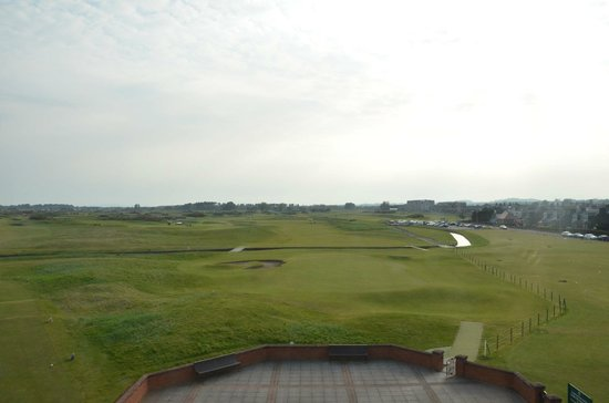 Carnoustie Golf Course Hotel: View from Room