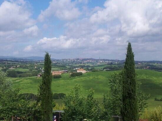 Podere Vesta: uitzicht