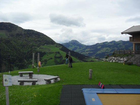Maierl-Alm und Chalets: Kinderspielplatz