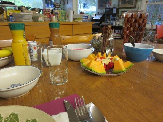 San-Suz Ed RV Park & Campground : homemade breakfast