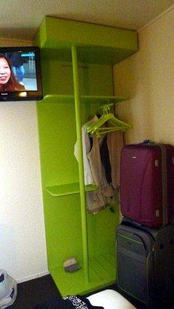 "Campanile Paris Est - Bobigny: The ""wardrobe"""
