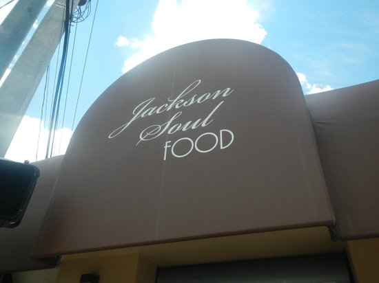 Jackson Soul Food: sign
