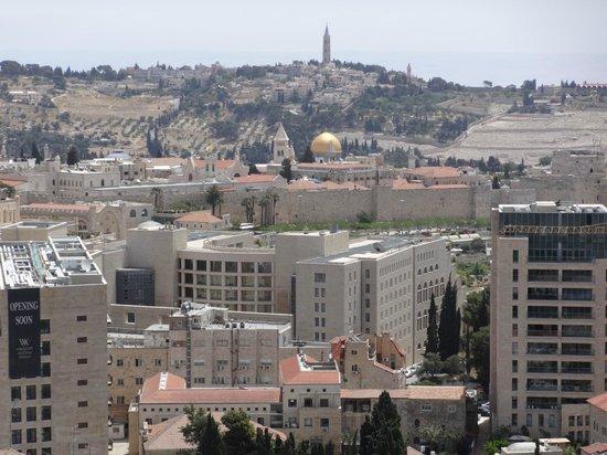 Leonardo Plaza Hotel Jerusalem: View from my room
