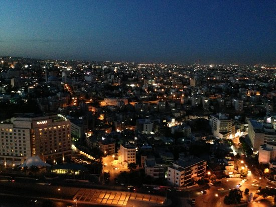 Le Royal Hotel Amman: View from the top floor