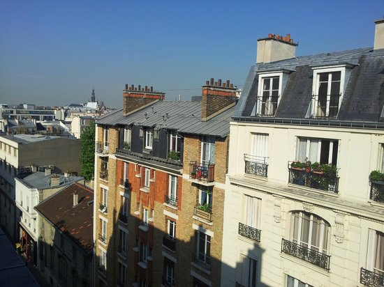 Belta Hotel Residence: View from room 605 on a sunny May day