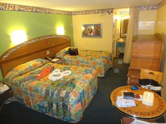 habitacion picture of disneys allstar music resort